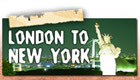 London to New York tag